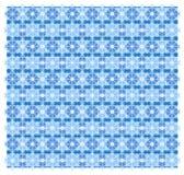 Abstrakcjonistyczny geometryczny błękita wzór Zdjęcia Stock