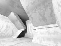 Abstrakcjonistyczny geometryczny betonowy architektury tło fotografia stock