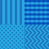 Abstrakcjonistyczny geometryczny bezszwowy deseniowy tło Obraz Royalty Free