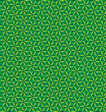 Abstrakcjonistyczny geometryczny bezszwowy deseniowy tło Zdjęcie Royalty Free