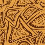 Abstrakcjonistyczny geometryczny bezszwowy wzór Fotografia Royalty Free