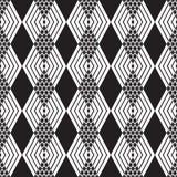 abstrakcjonistyczny geometryczny deseniowy bezszwowy Obraz Stock