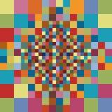 abstrakcjonistyczny geometryczny deseniowy bezszwowy Fotografia Stock