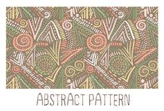 abstrakcjonistyczny geometryczny deseniowy bezszwowy Obrazy Stock