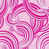abstrakcjonistyczny geometryczny deseniowy bezszwowy Bąbla ornamentacyjny backgroun Zdjęcie Royalty Free