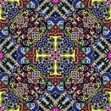 abstrakcjonistyczny geometryczny deseniowy bezszwowy Barwiony aztec stylu wzór ilustracji