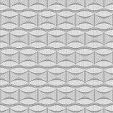 abstrakcjonistyczny geometryczny deseniowy bezszwowy czarny white Zdjęcie Royalty Free