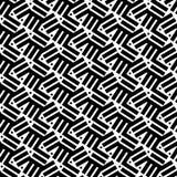 abstrakcjonistyczny geometryczny deseniowy bezszwowy Liniowy motywu tło Obrazy Royalty Free