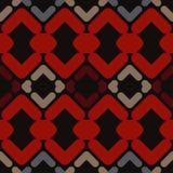 abstrakcjonistyczny geometryczny deseniowy bezszwowy Tekstura paski i rhombuses Obrazy Royalty Free