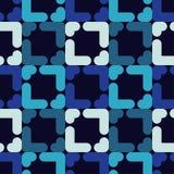 abstrakcjonistyczny geometryczny deseniowy bezszwowy Tekstura paski i rhombuses Obraz Stock
