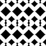abstrakcjonistyczny geometryczny deseniowy bezszwowy Tekstura paski i rhombuses Zdjęcie Stock
