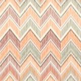 abstrakcjonistyczny geometryczny deseniowy bezszwowy Tkaniny doodle zygzag linia Zdjęcie Royalty Free