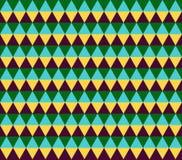 Abstrakcjonistyczny geometryczny kolorowy tło Zdjęcia Stock
