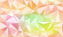 Abstrakcjonistyczny geometryczny kolorowy tło Fotografia Stock