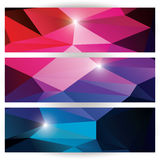Abstrakcjonistyczny geometryczny kolorowy tło, deseniowi projektów elementy Fotografia Royalty Free