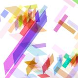 Abstrakcjonistyczny geometryczny kształt Obrazy Royalty Free