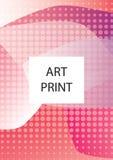 Abstrakcjonistyczny geometryczny linia wzoru tło dla biznesowego broszurki pokrywy projekta Błękita, koloru żółtego, czerwieni, p Zdjęcie Stock
