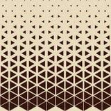 Abstrakcjonistyczny geometryczny modniś mody projekta druku trójboka wzór ilustracja wektor