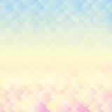 Abstrakcjonistyczny geometryczny mozaika pastelu tło Zdjęcie Royalty Free