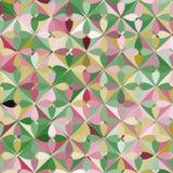 Abstrakcjonistyczny Geometryczny Nowożytny okręgu wzór ilustracja wektor