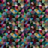 Abstrakcjonistyczny Geometryczny Nowożytny okręgu wzór royalty ilustracja