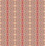 Abstrakcjonistyczny geometryczny pasiasty bezszwowy wzór Zdjęcie Royalty Free