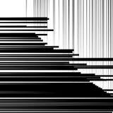 Abstrakcjonistyczny geometryczny sztuka wizerunek Monochrom, czarny i biały backgr ilustracji