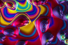 Abstrakcjonistyczny geometryczny tło - cyfrowo wytwarzający wizerunek Obrazy Stock