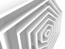 Abstrakcjonistyczny geometryczny tło, heksagonalny royalty ilustracja