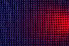 Abstrakcjonistyczny geometryczny tło ostrosłupy Zdjęcia Stock