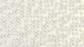 Abstrakcjonistyczny geometryczny tło przypadkowo wyrzucony szyk rożki Zdjęcie Royalty Free