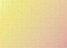 Abstrakcjonistyczny geometryczny tło z żółtymi i czerwonymi sześciokątami wektor royalty ilustracja