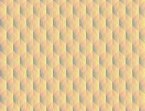 Abstrakcjonistyczny geometryczny tło z sześcianami Zdjęcie Royalty Free