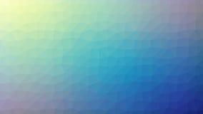 Abstrakcjonistyczny geometryczny tło z trójgraniastym wielobokiem, depresja poli- ilustracja wektor
