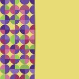 Abstrakcjonistyczny geometryczny tło Obrazy Royalty Free