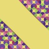 Abstrakcjonistyczny geometryczny tło Zdjęcie Royalty Free