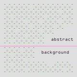 Abstrakcjonistyczny geometryczny tło projekt Minimalisty styl Fotografia Stock