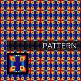 Abstrakcjonistyczny geometryczny tło, wektor Obrazy Stock