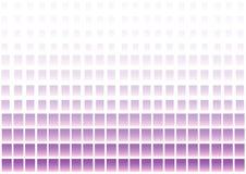 Abstrakcjonistyczny geometryczny t?o z purpur i menchii kwadratami wektor ilustracja wektor