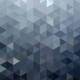 Abstrakcjonistyczny geometryczny trójboka tło Obraz Royalty Free