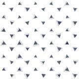 Abstrakcjonistyczny geometryczny trójboka wzór royalty ilustracja