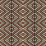 Abstrakcjonistyczny geometryczny trójboka wzór Obraz Royalty Free
