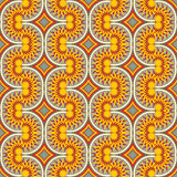 abstrakcjonistyczny geometryczny wzór Obraz Stock
