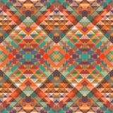 Abstrakcjonistyczny geometryczny wzór Zdjęcia Stock