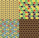 Abstrakcjonistyczny geometryczny wzór Fotografia Royalty Free