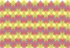 Abstrakcjonistyczny geometryczny wzór Zdjęcie Royalty Free