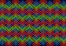 Abstrakcjonistyczny geometryczny wzór Obraz Royalty Free