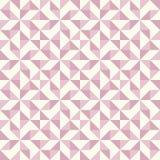 Abstrakcjonistyczny geometryczny wzór, patchworku stebnowanie ilustracji