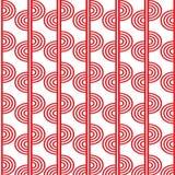 Abstrakcjonistyczny geometryczny wzór z falistymi liniami, lampasy fotografia stock