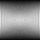Abstrakcjonistyczny geometryczny wzór z kompresującym wykoślawieniem e royalty ilustracja
